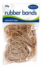1 Pack Strong elastic rubber bands assorted sizes school / office / stationary