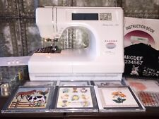 JANOME MEMORY CRAFT 5700 IN EXCELLENT CONDITION WITH LOADS OF EXTRAS