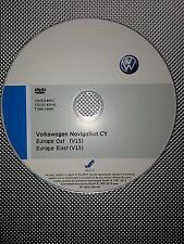 Navigation DVD VW RNS 510 Skoda Columbus V13 Osteuropa - neuste Version 2016 !!