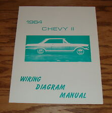 1964 Chevrolet Chevy II Nova Wiring Diagram Manual 64