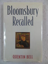 Quentin Bell BLOOMSBURY RECALLED Columbia University Press c1995 3rd Printing