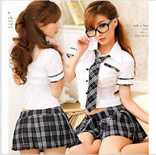 Sexy Lady japan high school girl dress uniform women adult costume full outfit