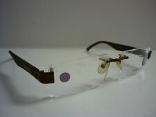 Genuine Designer Glasses Frames Cerruti CE16805 Brown Rimless - Ref 1114
