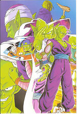 DRAGON BALL POSTER  PICCOLO  21x14 CM NEW