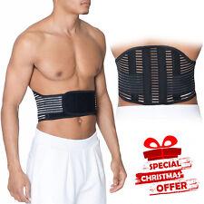 Grande cintura lombare traspirante Sostegno Posteriore Cintura MAL DI SCHIENA DOLORE SOLLIEVO Girovita lavoro