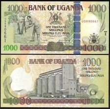 Uganda 1000 SHILLINGS 2005 P 43 UNC