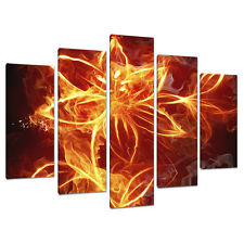 Set of 5 Abstract Modern Wall Art Canvas Pictures Bedroom Prints 5063