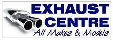 EXHAUST CENTRE PVC OUTDOOR BANNER GARAGE WORKSHOP 2FT X 6FT