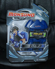 """Monsuno Toy Battle Stock Clip For Belt Or Waistband 2012 Blue 5"""" x 3-1/2"""" Age 4+"""