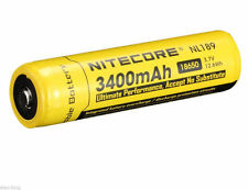 NEW NITECORE 18650 NL189 3400 mah Rechargeable Battery Li-ion Protected