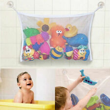 Baby Kids Bath Time Toy Tidy Storage Suction Cup Bag Mesh Bathroom Organiser Net