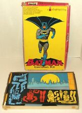 1966 BATMAN COLORFORMS CARTOON KIT in box EXCELLENT Penguin JOKER super hero toy