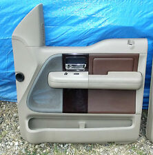 2004-2008 Ford F-150 King Ranch Lariat Truck Door Panel Right Front Super Crew