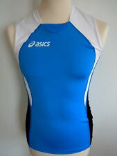 ASICS TANK SHIVA TEAM TOP SLEEVELESS FITNESS RUNNING FREIZEIT SHIRT XS 46 NEU