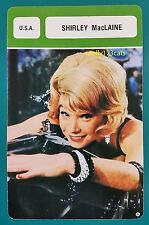 American Movie Actress Shirley MacLaine French Film Trade Card