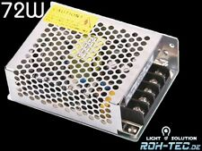 LED Trafo - Netzteil 12V/DC / 72W / 6A MEANWELL (RS-75-12) Power Supply