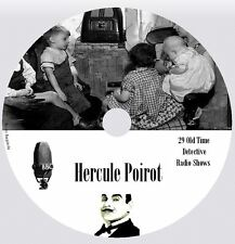 HERCULE POIROT - 29 Old Time Detective Radio Shows MP3 CD