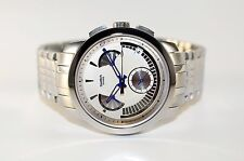 SWATCH IRONY RETROGRADE CHRONO BLUE SIGNS YRS402G NEU/OVP