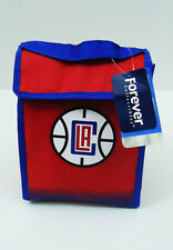 "Los Angeles Clippers Lunch Bag Cooler Velcro Box Tote New LA NBA 8"" x 11"" x 4"""
