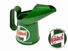 NEW CASTROL CLASSIC OIL POURING JUG (1/2 PINT) VINTAGE METAL CAN RETRO HISTORIC