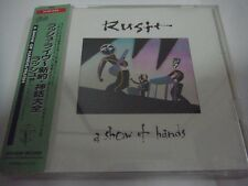 RUSH-A Show Of Hands JAPAN 1st.Press w/OBI Pink Floyd Yes Genesis Jethro Tull
