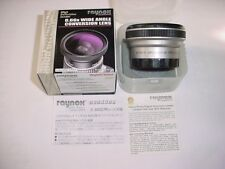 RAYNOX SRW-6600 LE 58mm 0.66x Wide Angle lens for Canon S20/S21/S200