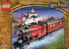 LEGO HARRY POTTER HOGWARTS EXPRESS 4708 ALL MINIFIGURES 100% COMPLETE GUARANTEE