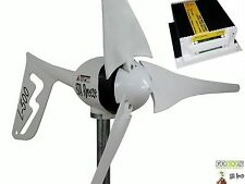 Kit Wind Turbine +charge controller 12V/L-500W white,Generator  iSTA Breeze®