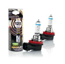 NEW H11 Ring XENON ULTIMA Car Headlight Bulbs + 120% Brighter H11  Pair