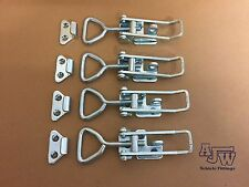 4 X Over Centre Catches Fastener LARGE LOCKING OJOP Trailers Truck Horsebox