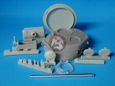 Tank Workshop 1/35 M4 Sherman T23 Turret w/Oval Hatch (w/Barrel) (Tamiya) 350016