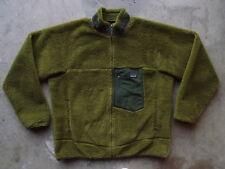 Patagonia Retro-X Pile Fleece Jacket Size XL Green Polar Winter Ski Snow Worn