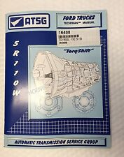 5R110W Transmission ATSG Technical Service and Repair Manual for FORD Torqshift