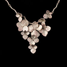 Hydrangea Necklace - Michael Michaud - Silver Seasons Jewelry