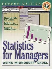 Statistics for Managers Using Microsoft Excel (2nd Edition)