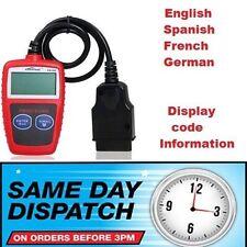 KW806 Cualquier coche OBD2 EOBD BUS Código De Fallo Diagnóstico Lector Escaner