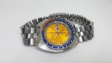RARE VINTAGE SEIKO CHRONOGRAPH PEPSI DIAL POGUE AUTOMATIC 6138 6009 MAN'S WATCH