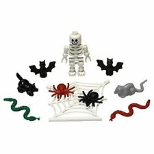 ☀️NEW LEGO Halloween Accessory Pack  Skeleton bats snakes spiders rat web