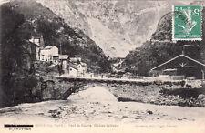 SAINT-SAUVEUR-TINEE pont de roure éd foucachon timbrée 1910