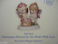 NEW Precious Moments CHRISTMAS MEMORIES ARE MADE WITH LOVE two fairies 131042