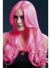 Khole Wig Neon Wave New Adult Halloween Cristmas Womens Accessories Fever Pink