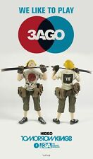 "Ashley Wood 3A ThreeA Popbot Tomorrow King TK 3AGO Hideo 8"" Sealed"