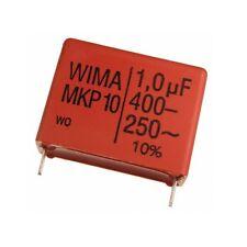 WIMA impulso POLIPROPILENE fissa diapositive-CONDENSATORE mkp10 400v 1uf 27,5mm 089723
