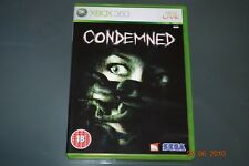 Condemned Xbox 360 UK PAL (No Manual) **PLAYABLE ON XBOX ONE**