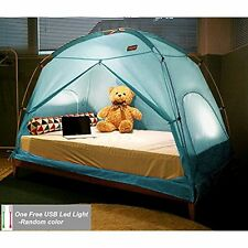 TQUAD Floorless Indoor Privacy Tent on Bed for Insulation Warm Sleep in Drafty