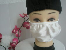 1 White Silk Anti Flu & Dust & Hay Fever Respiratory Infection Mask, Family Gift