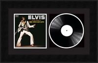 """Picture Photo Frame for Single 7"""" Vinyl LP Record with Album Cover 
