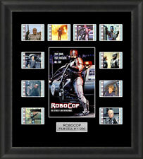 ROBOCOP 1987 MOUNTED FRAMED 35MM FILM CELL MEMORABILIA 35MM FILM CELLS