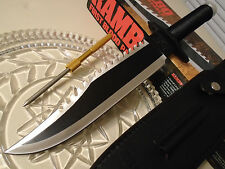 Rambo II Licensed Combat Bowie Hunter Knife HCG Masterpiece Collection Sharpener