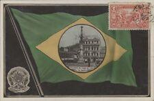 BRAZIL RIO DE JANEIRO FLAG LAMPADARIO DO LARGO DA LAPA REAL PHOTO CASA STAFFA